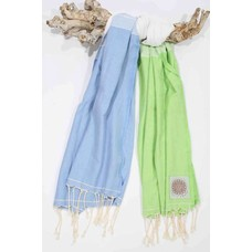 Call it Fouta! fouta Splash blue anis