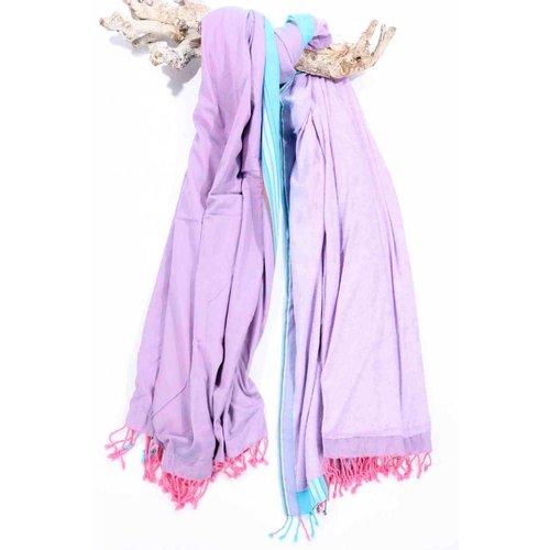 PURE Kenya kikoy XL strandlaken Kakamega purple