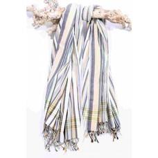 PURE Kenya kikoy handdoek Sana stripes