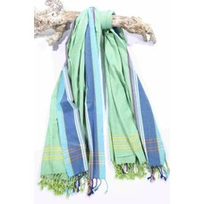 PURE Kenya kikoy handdoek Watamu green