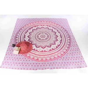 Call it Fouta! Strandlaken Gypsy Square Spring pink