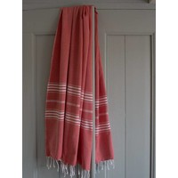 hamamdoek XL steenrood