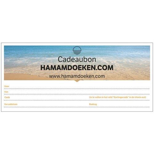 Hamams own Hamamdoeken.com Cadeaubon
