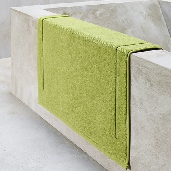 Excellence badmatten lime green / dark citron, vanaf