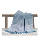 Fashion4Wellness Hamamdoek Deniz Size 4 - 100x200 petrol blue