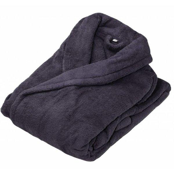 Badjas dark grey Excellence, maat L