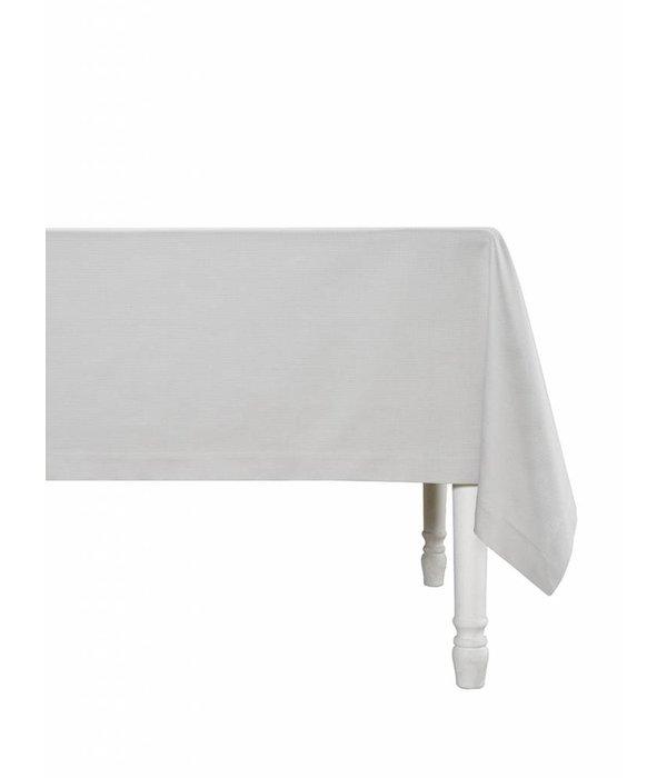 De Witte Lietaer Kalahari grey/white, damast tafellinnen