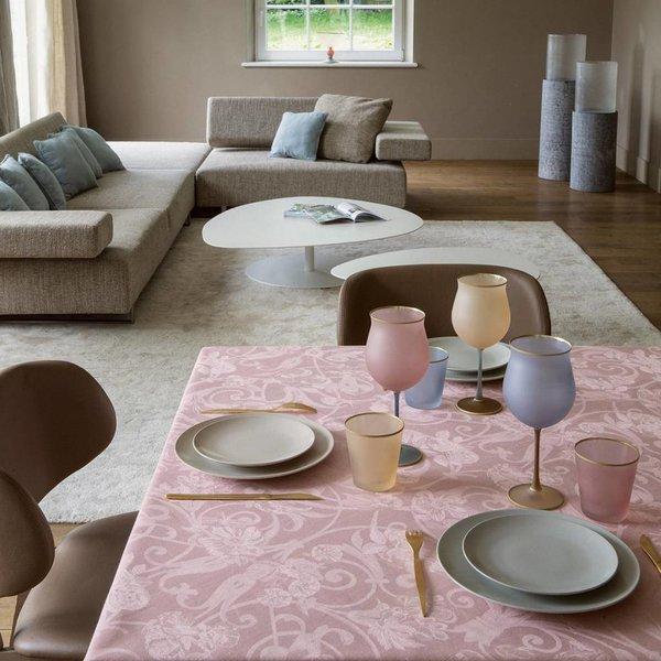 Tivoli powder pink tafellinnen