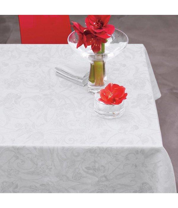 Le Jacquard Français Tivoli white tafellinnen