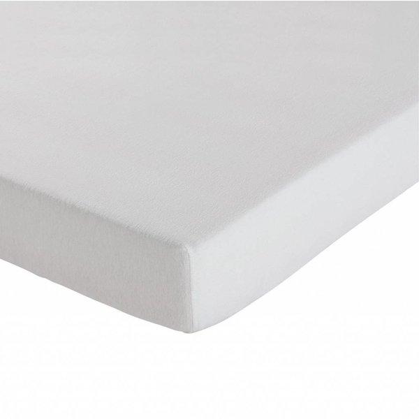 molton topper hoeslakenmodel matrasbeschermer - voor stuggere topmatrassen, dikkere kwaliteit