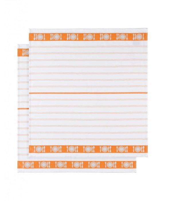 De Witte Lietaer droogdoek BML / Table orange