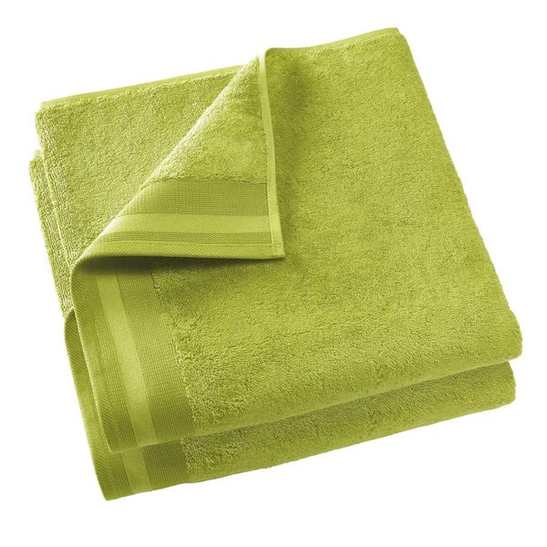 Keukenhanddoek Excellence 60x40 lime green