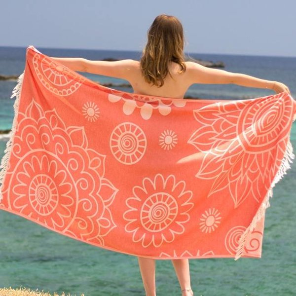 Hamamdoek Gypsy Beauty Coral