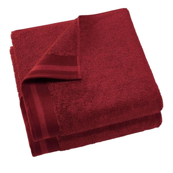 Keukenhanddoek Excellence 60x40 dark red