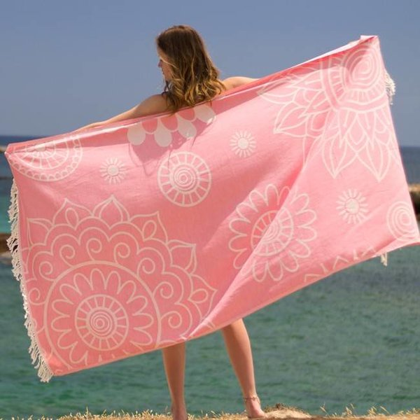 Hamamdoek Gypsy Lovely pink