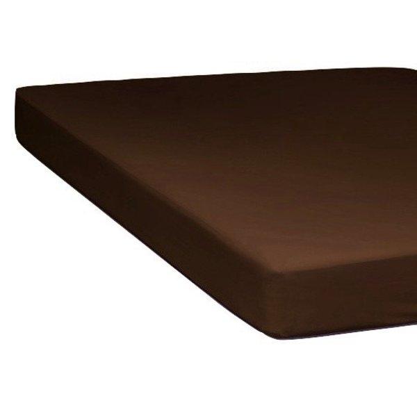 Hoeslaken chocolate 300TC tot 20 cm hoog