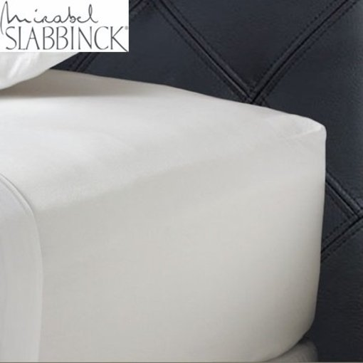 Mirabel Slabbinck Hoeslaken 35-40 cm hoog katoen satijn rondom elastiek 300TC