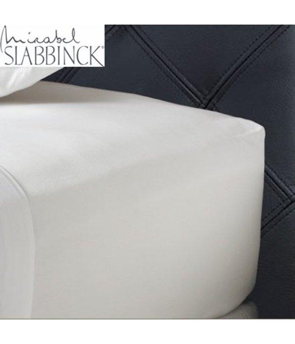 Mirabel Slabbinck Hoeslaken 35-40 cm hoog katoen satijn rondom elastiek 300 TC