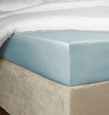 De Witte Lietaer Hoeslaken percale katoen Bumblebee ice blue