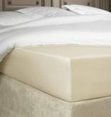 De Witte Lietaer Hoeslaken percale katoen Bumblebee beige sand