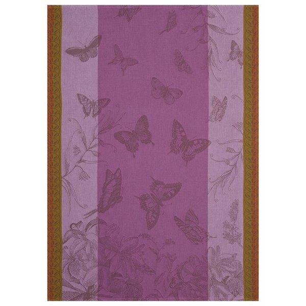 Droogdoek Jardin des Papillons iris