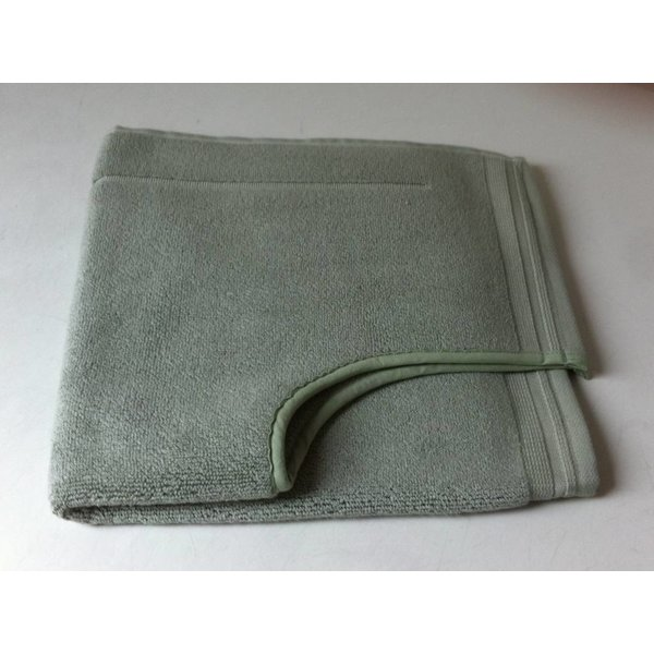 Toiletmat mist green