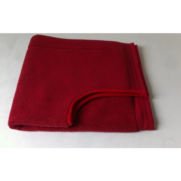 Toiletmat dark red