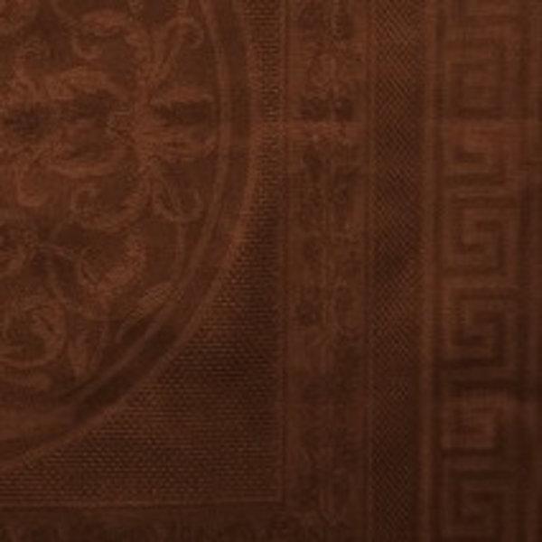 Damast Chambord 183 rond chocoladebruin