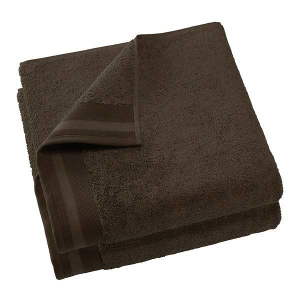 Keukenhanddoek Excellence 60x40 brown chocolat (black brown)