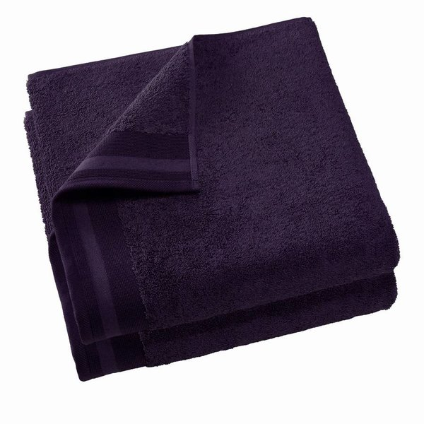 Keukenhanddoek Excellence deep purple