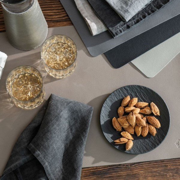 Jazz lederlook placemats