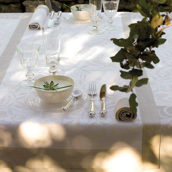 Venezia ivoire tafellinnen