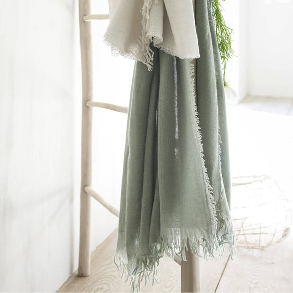 Loulou plaid celadon