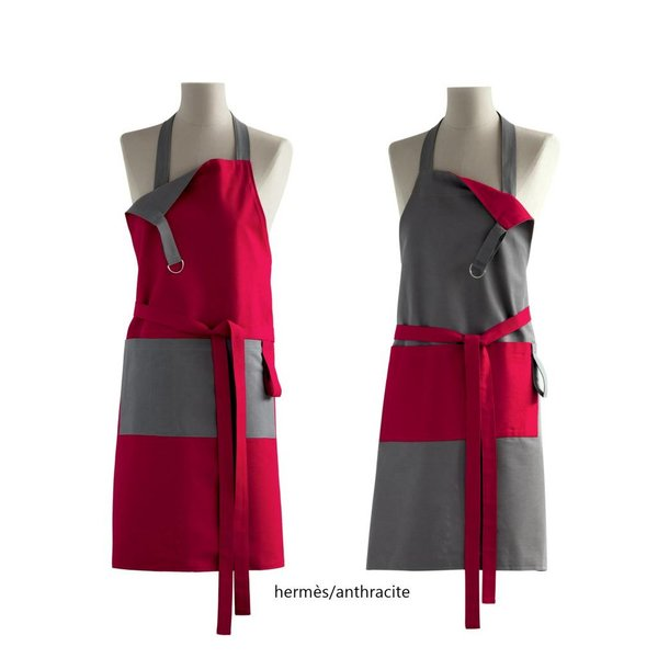 Tweezijdige keukenschorten - hermès/anthracite
