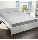 De Witte Lietaer Hoeslaken flanel Alva light grey