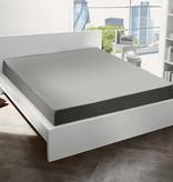 De Witte Lietaer Hoeslaken flanel Alva natural grey