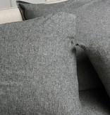 Uni flanel melee dark grey