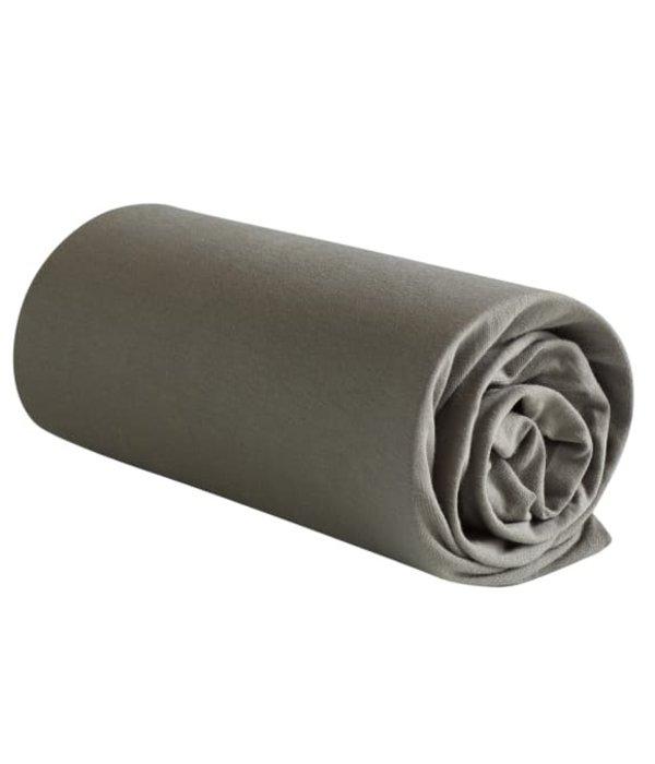 De Witte Lietaer Jersey hoeslaken Case steeply grey matrashoogte vanaf 22 t/m 32 cm