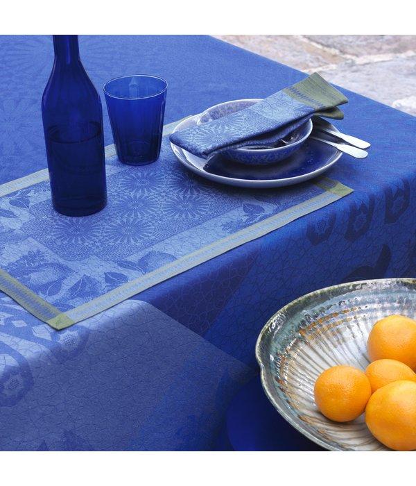 Le Jacquard Français Jardin d'Orient blue 175x250