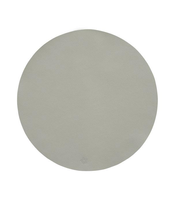 Pichler Jazz beton lederlook ronde placemats