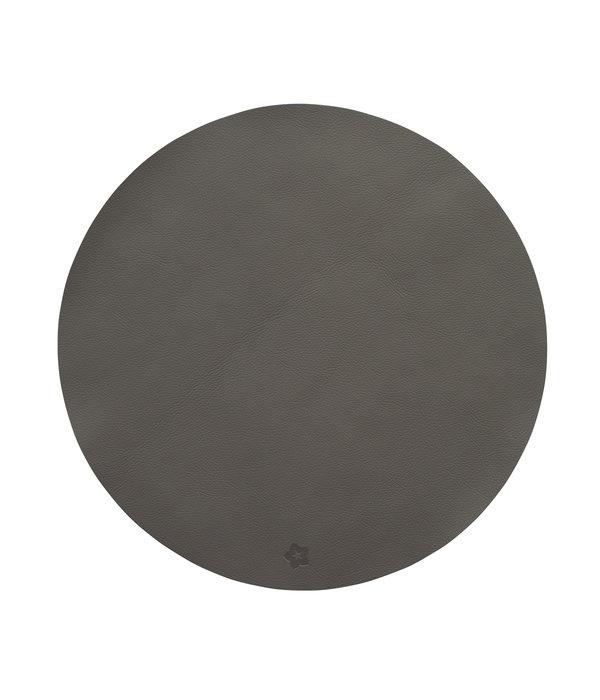 Pichler Jazz graphit lederlook ronde placemats