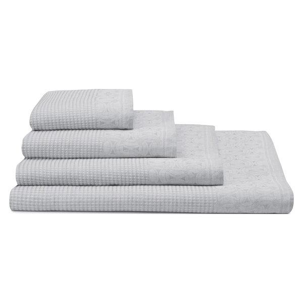100% linnen badgoed Lula pearl grey - perle gris