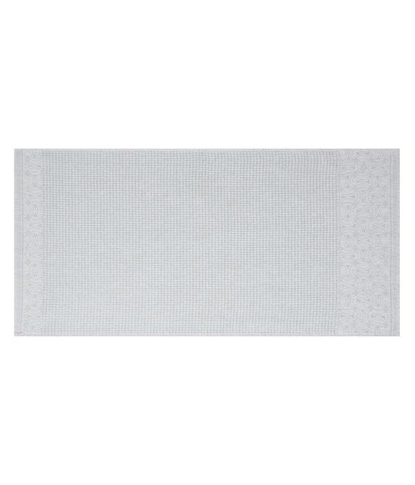 Le Jacquard Français 100% linnen badgoed Lula pearl grey - perle gris