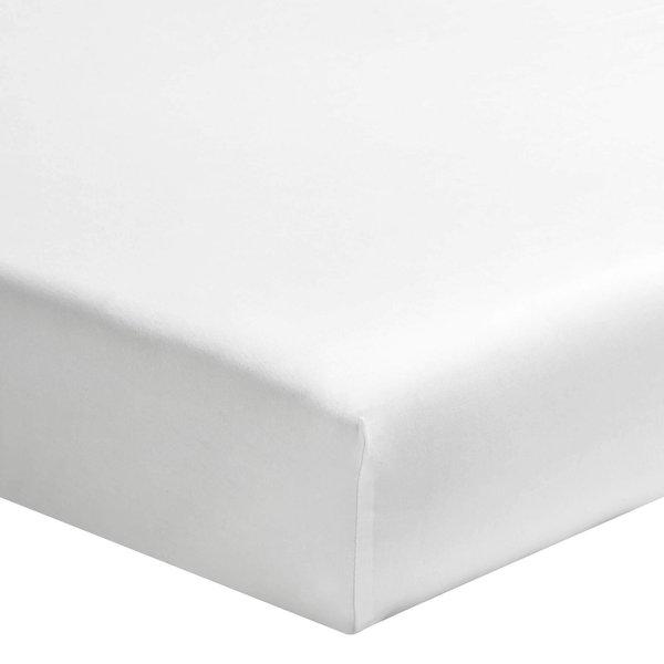 Hoeslaken 200TC wit tot 20 cm hoog en lakens