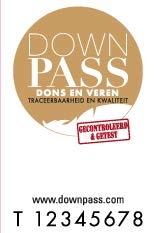 Downpass certificaat