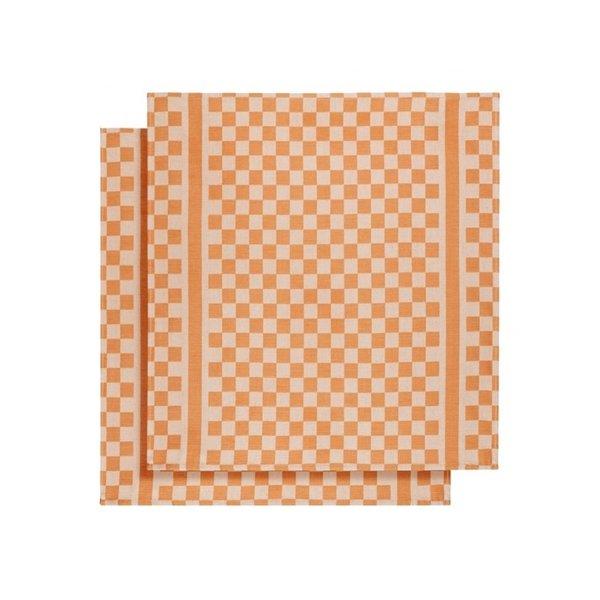Groom droogdoek orange