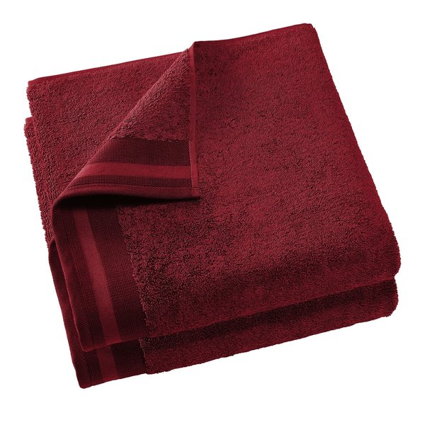 Keukenhanddoek Excellence 60x40 wine red