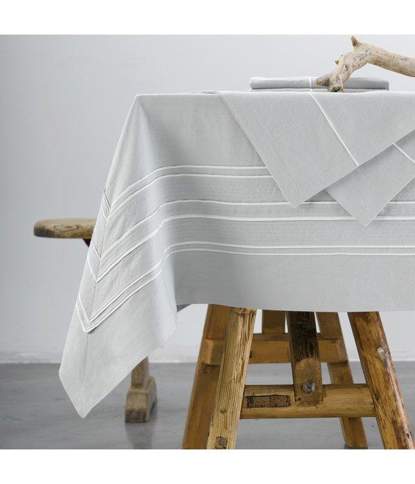 Mirabel Slabbinck Quelea tafellinnen, 100% katoen (Carum stof), maatwerk