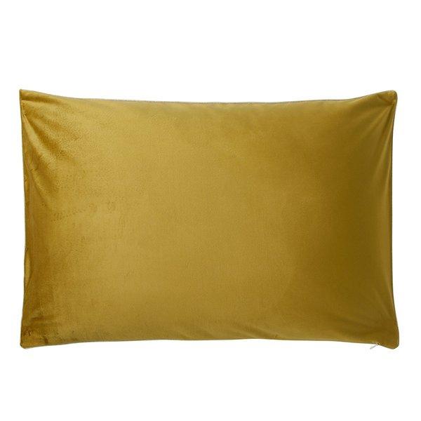 - Gatsby sierkussensloop curry / goud