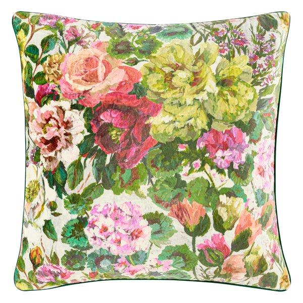 Grandiflora rose sierkussen